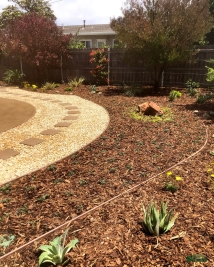 back yard transformation | design by: Lynn C. Johnson Associates